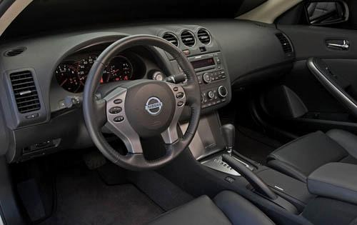 interior design and special features the 2008 nissan altima
